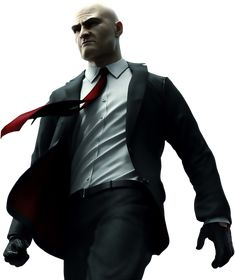 Agent 47 from the Hitman video game series