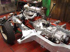 Frame off restoration by Land Rover Center