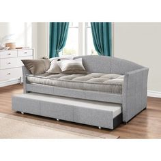 Collective pullout bed great for company or tiny homes #ad #daybed #homedecor