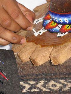 Huichol Bead art (also called Chaquira)