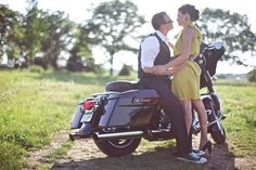 outfit inspiration for my motorcycle engagement session