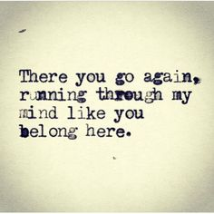 and YOU DO, belong here... ILY