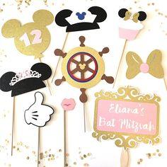 Mickey Mouse crucero inspirado Props accesorios de fiesta