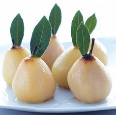 Sauternes-Cooked Pears