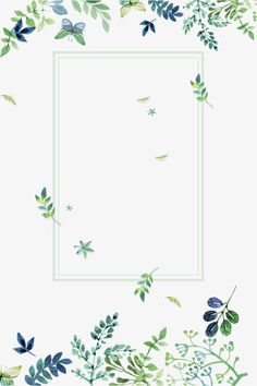 Small fresh green flowers border texture, Small Fresh, Green, Flowers PNG and PSD Flower Backgrounds, Wallpaper Backgrounds, Iphone Wallpaper, Bullet Journal Calendrier, Flores Wallpaper, Stock Design, Single Line Drawing, Invitation Background, Borders And Frames