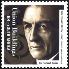 Architect Herbert Baker African History, South Africa, Stamp, Portrait, Masters, Buildings, Architecture, Inspiration, Art