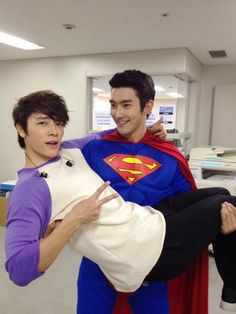 Siwon & Donghae haha this makes me laugh