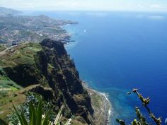 Marvel at the spectacular views from the clifftop lookout at Cabo Girao in Madeira. #Cabo #Girao #Madeira