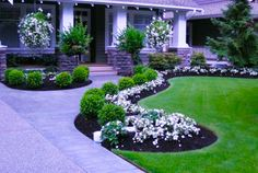Beautiful front yard landscape ideas are one of the most important factors that add to your home's property value and curb appeal. Description from landscapee.com. I searched for this on bing.com/images