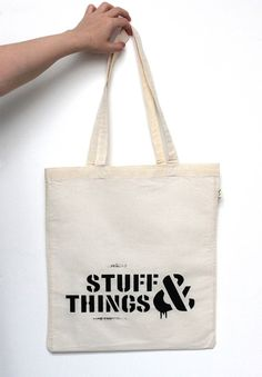 "I swear to God I've had stuff.... things...! Gotta love Rick and I definitely love this Walking Dead inspired ""Stuff & Things"" tote bag!"