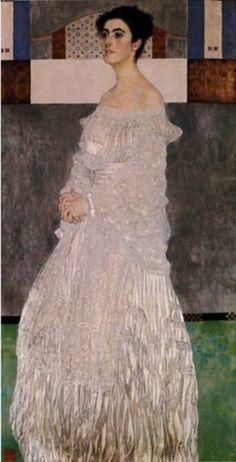 Gustav Klimt: Portrait of Margarethe Stoneborough-Wittgenstein  musbi.com, The Great Auteur Gallery