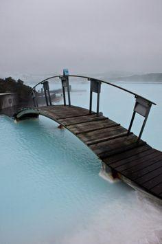 Blue Lagoon, Iceland. Wow.