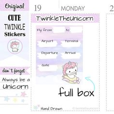 Check out A311 | flight tracker planner stickers,full box stickers,full boxes stickers,flight stickers,travel stickers,holiday stickers,live planner on twinkletheunicorn