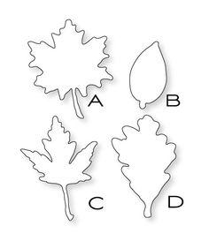 leaf print dies