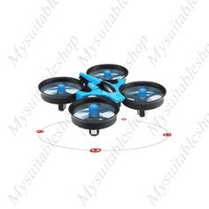 Mini Drone 2.4G 4CH 6-Axis Gyro RTF RC Quadcopter – mysuitableshop