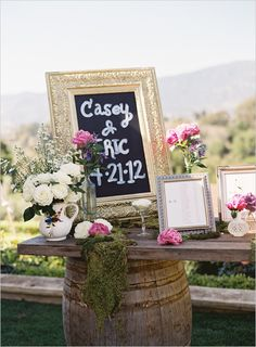 wedding seating assignment ideas