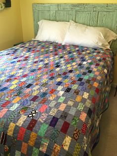 Finish It Up Friday ~ Scrappy Rectangles! | KatyQuilts