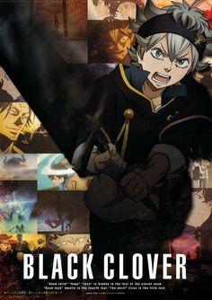 Black Clover, poster of anime.