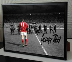 A high quality canvas(not a photo print) tribute to GEORGE BEST. Autographs are reproductions of original GEORGE signature. One Love Manchester United, Salah Liverpool, International Signs, Northern Irish, European Cup, Mike Tyson, Sign Printing, A4