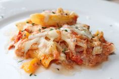 Three Cheese Baked Ziti | Meatless Meals for Meat Eaters