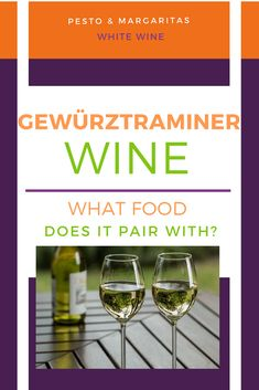 Gewürztraminer wine is a white wine that isn't quite as common as chardonnay or sauvignon blanc but is definitely worth trying. But what kind of foods does this German wine pair with? And when should you serve it? Get to know the wine better here! Wine Cocktails, Alcoholic Drinks, Drink Wine, Beverages, Sauvignon Blanc, Sweet Champagne Brands, Sweet Wine, Schnapps, Cocktail Making
