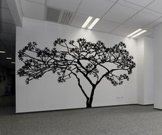 Vinyl Wall Decal Sticker Wide Tree #AC156 | Stickerbrand wall art decals, wall graphics and wall murals.