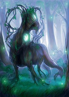 Commission- MTG token- Saproling by Lilith-the-5th.deviantart.com on @DeviantArt