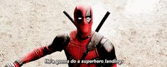 Superhero landing by Steve   giphy.gif (500×200) (Don't always stick the landing, eh?)