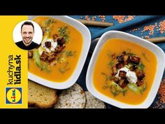 Šošovicový krém s tofu 🍽️ Lidl, Tofu, Thai Red Curry, Good Food, Lunch, Ethnic Recipes, Youtube, Eat Lunch, Youtube Movies