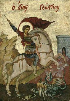 Saint George. Orthodox icon