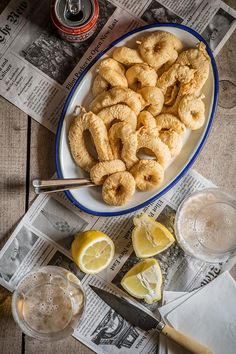 recipe fried squid calamari