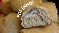 PÃO CASEIRO 100% INTEGRAL! Pão de saquinho nunca mais!