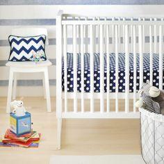 Chevron Crib Bedding, Baby Bedding Chevron, Chevron Crib Skirt, Chevron Nursery Bedding...can be shipped to Canada