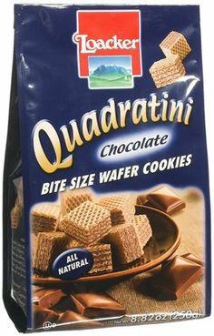 Loacker Quadratini Small Wafer Cookies,