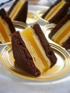 Si può fare un dolce buonissimo senza zucchero? Si, con il miele, come in questo caso. Sono dei buonissimi mignon di Montersino, belli ...