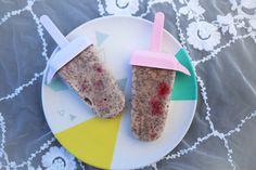 Rezept für Chia-Kokos-Himbeer-Eis und Himbeer Eistee | Wunderhaftig