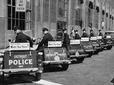 Detroit police:150 years of service