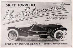 Affiche vintage voiture ancienne Poster par BoutsdArtsVintage