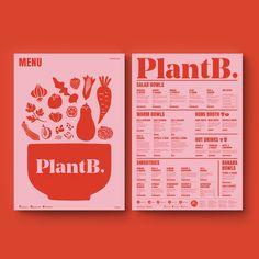 """758 Likes, 25 Comments - @makebardo on Instagram: """"We are back! Some new brand identity design for @plantb.nz to start the 2018. This brand it's a…"""" Corporate Design, Brand Identity Design, Branding Design, Food Branding, Identity Branding, Stationery Design, Publication Design, Menu Layout, Print Layout"""