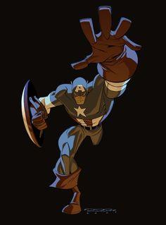 Captain America •Khary Randolph