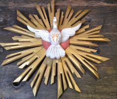 Holy Spirit of God 11 Wall Trinity Dove by RP2Interiorconcepts