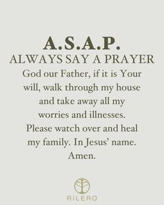 Say A Prayer, Names Of Jesus, No Worries, Christianity, Prayers, Healing, God, Sayings, Dios