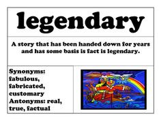Feel free to use these vocabulary cards however you'd like! I've used them as word of the week words. I post one card a week and it becomes our word of the week!29 WORD CARDS! If you use one a week it's 29 weeks of words!Grade 3: These words can be challenge words!Grades 4 and 5: These words can be weekly words or can be a great addition to your word wall!Cards include:word in boldsynonymsantonymsword used in a sentenceillustration to illustrate the worddefinitionWords…