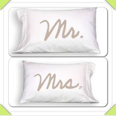 Arrival of New Pillowcases with Fun Messages printed on 400 Thread Count 100% Cotton Material. #mrandmrs #wedding #sleep #pillow #sweetdreams #shopsmall #shoplocal #gifts #lkn #lakenorman
