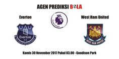 Prediksi Everton vs West Ham 30 November 2017