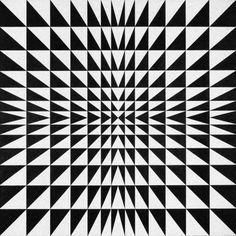 Mario Ballocco, Tensioni formali da instabilità luminosa, 1970