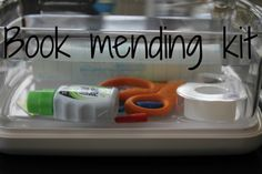 Little Moments: Mending and Respecting Books