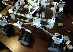 Featured image of Start Building with Aluminum Rods and 3D Printed Brackets