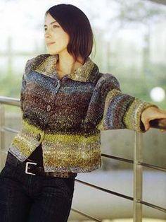 Y – 823 | Knitting Fever Yarns & Euro Yarns --Silk Garden Chunky #8