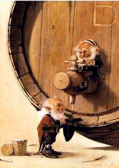 Jean-Baptiste Monge ~ Gnomes Get Just a Smidgen